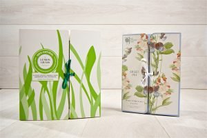 lemon grass and sweet pea scent note paper
